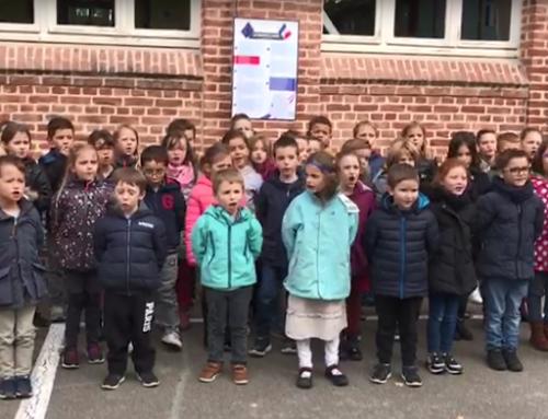 Ecole La Caroline : «La Marseillaise» en vidéo pour le 11 novembre 2020