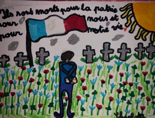 École Petrucciani : dessins pour le 11 novembre